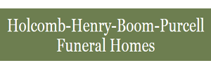 Holcomb-Henry-Boom-Purcell Funeral & Cremation Services Logo