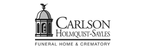 Carlson-Holmquist-Sayles Funeral Home Logo