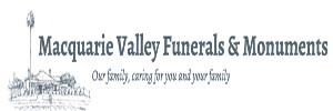 Macquarie Valley Funerals & Monuments Logo