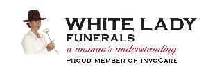 White Lady Funerals - Charmhaven Logo