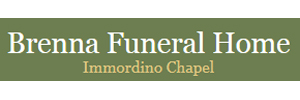Brenna Funeral Home Immordino Chapel Logo