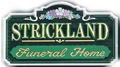Strickland Funeral Home Logo