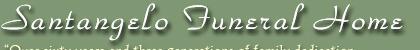 SANTANGELO FUNERAL HOME - Lodi Logo