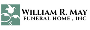 William R. May Funeral Home Logo