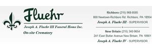 Joseph A. Fluehr III Funeral Home, Inc. Logo