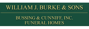 WILLIAM J. BURKE & SONS/BUSSING & CUNNIFF FUNERAL HOMES Logo