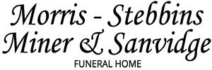 Morris-Stebbins-Miner & Sanvidge Funeral Home Logo