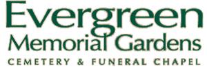 Evergreen Memorial Gardens Funeral Chapel Logo