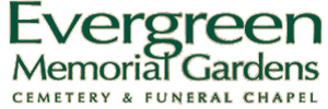 Evergreen Memorial Gardens Funeral Chapel Logo