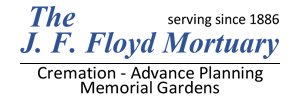 The J. F. Floyd Mortuary, Crematory & Cemeteries Logo