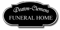 Deaton-Clemens Funeral Home Logo