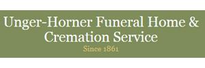 Unger-Horner Funeral Home Rochelle - Rochelle Logo