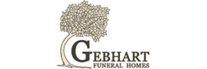 Gebhart Funeral Home of New Castle Logo