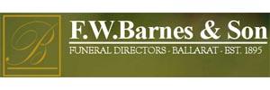 F.W Barnes & Sons Logo