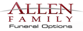 ALLEN FAMILY FUNERAL OPTIONS - Plano Logo