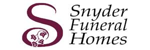Snyder Funeral Home, Denzer Chapel Logo