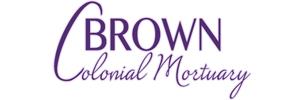 Brown Colonial Mortuary Logo