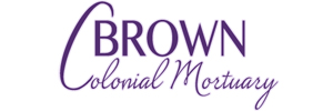 Brown Colonial Mortuary Logo