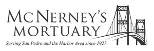 McNerney's Mortuary - San Pedro Logo