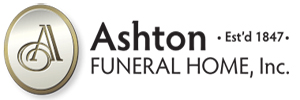 ASHTON FUNERAL HOME - EASTON Logo