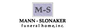 Mann-Slonaker Funeral Home Logo
