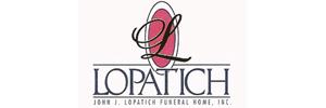 John J. Lopatich Funeral Home, Inc. - Latrobe Logo