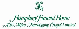 Humphrey Funeral Home A.W. Miles - Newbigging Chapel Limited Logo