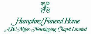 Humphrey Funeral Home A.W. Miles - Newbigging Chapel Limited Logo