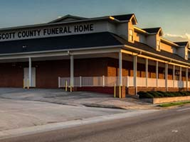 Colonial funeral home weber city